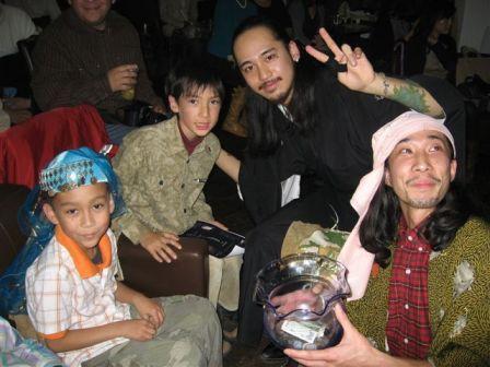 ミュージシャンと子供たち