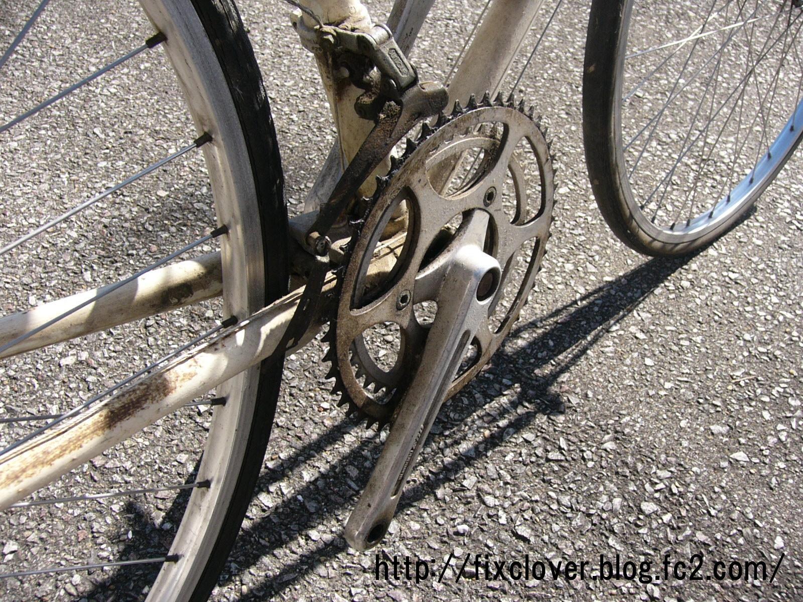 BBベアリング破損 - 自転車の ...