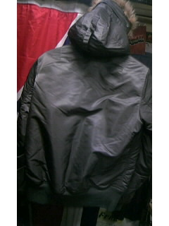 Blow Hooded MA-1 1-20001
