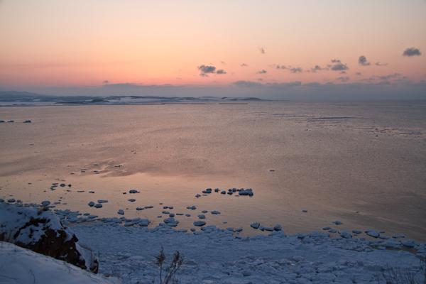 夕映えの岬