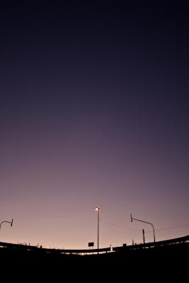 ブルーアワー 平成19年11月4日(日)撮影