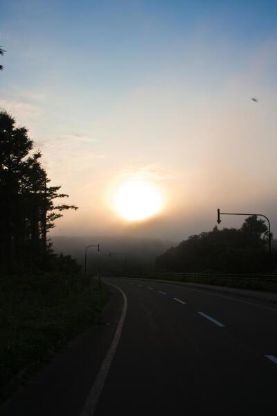 霧と青空の境目