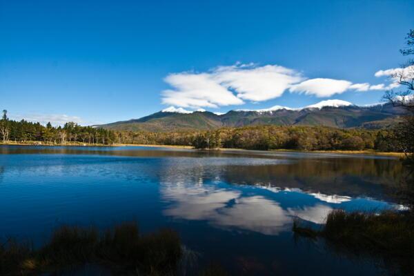 知床五湖 第二湖から
