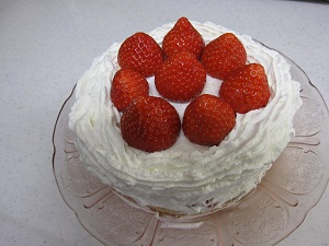 2011 クリスマスケーキ