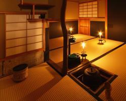 織部 茶室
