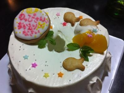 のっぴさんケーキ