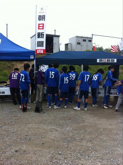 朝日新聞サッカースクール(2011:6:18 sat)[準備1]