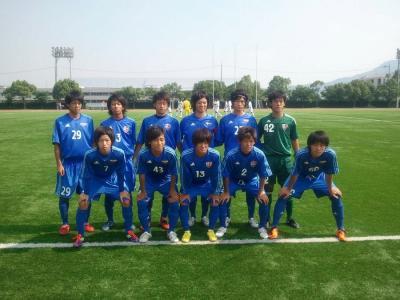 Iリーグ中国2011 vs広大B(2011:7:16 sat)[start]