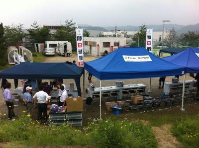 朝日新聞サッカースクール(2011:6:18 sat)[準備2]