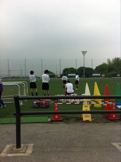 朝日新聞サッカースクール(2011:6:18 sat)[準備3]