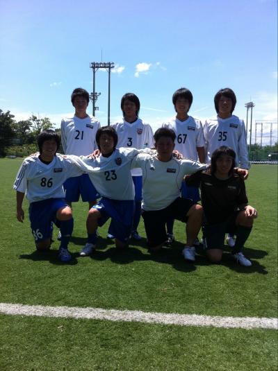 Iリーグ中国2011 vs経済A(2011:6:25 sat)[ベンチ]