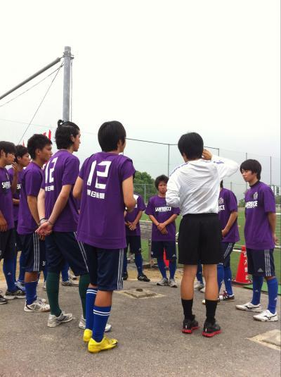 朝日新聞サッカースクール(2011:6:18 sat)[準備4]