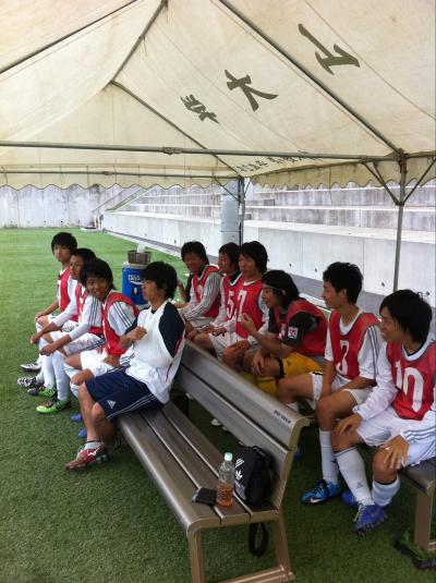 2011 Iリーグ 第1節 vs徳山大(2011:6:18 sat)[ベンチ]