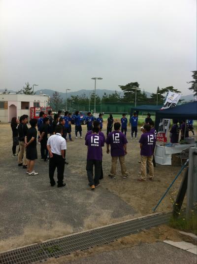 朝日新聞サッカースクール(2011:6:18 sat)[準備]