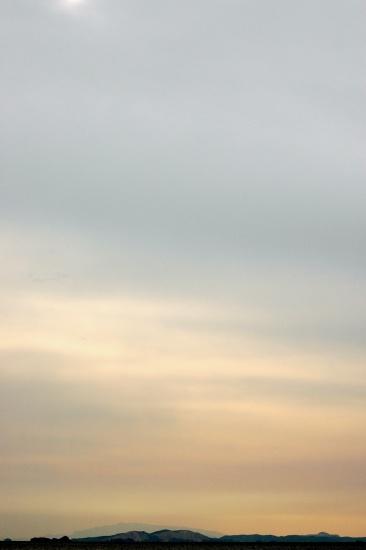 曇り日夕日s