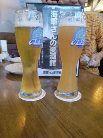 6月25日ビール