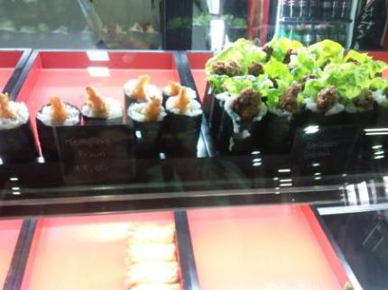 売り切れ間近お寿司