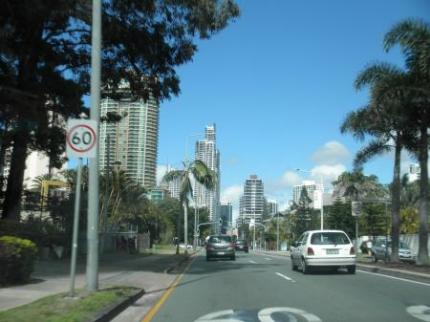 オーストラリアな街並み