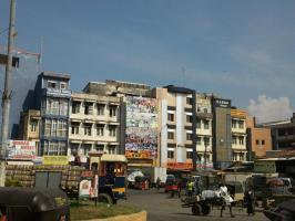 コロンボの市場風景