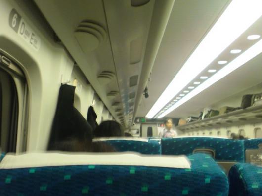 新幹線のぞみ号