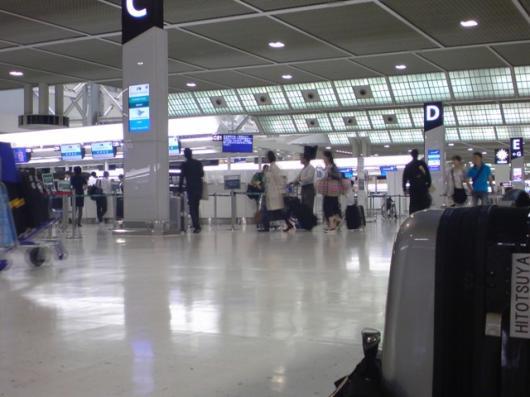 空港搭乗ゲート