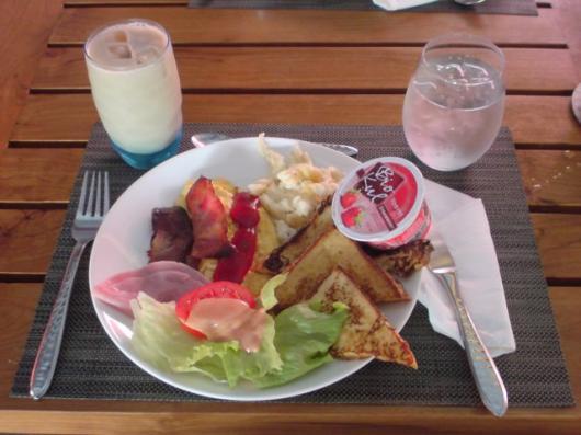 クラブメッド 朝食