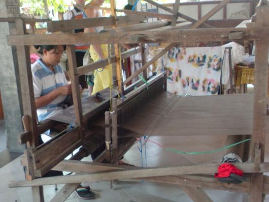 インドネシア織物