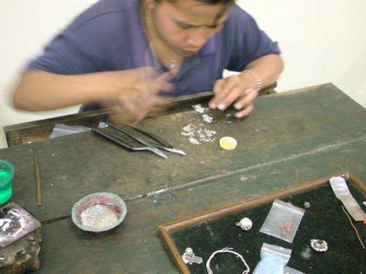 インドネシア銀細工