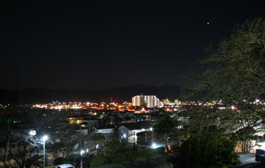小川町の夜