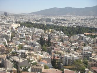 アテネ遠景