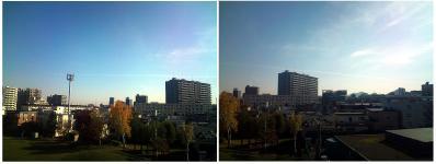 地震雲 20111101