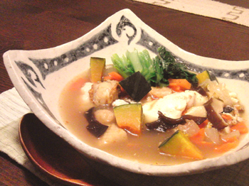 Jan11_中華スープがけご飯