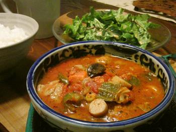 Feb07_トマトスープで煮込んだハンバーグ