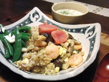 May15_シーフード炒飯