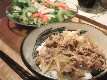 May28_ピリ辛豚丼