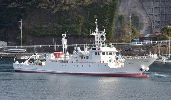 東京都漁業調査指導船 新「みやこ」 2012/02/29日竣工