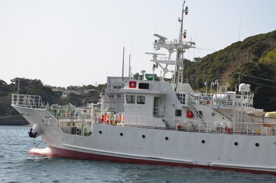 都調査船は他に 興洋89t(小笠原) たくなん44t(八丈) やしお43t(大島)の4艘