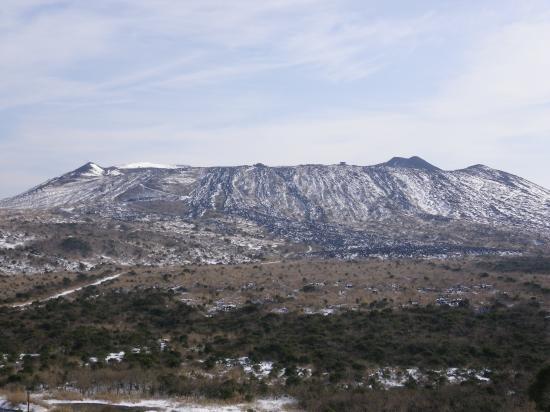 三原山登山口