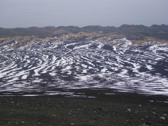 櫛形山からの裏砂漠
