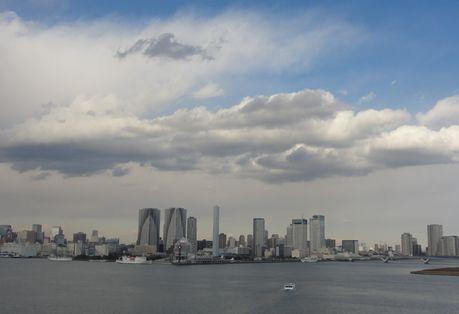 東京港、レインボーから