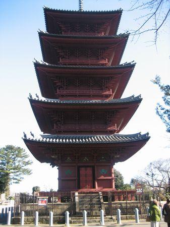 本門寺の五重塔