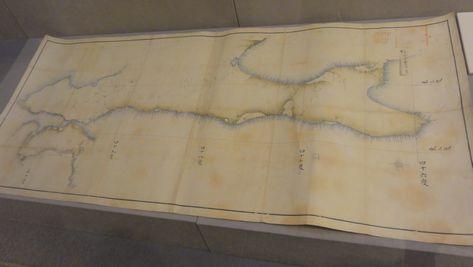 シーボルトが持っていた地図