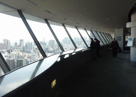展望台は25階