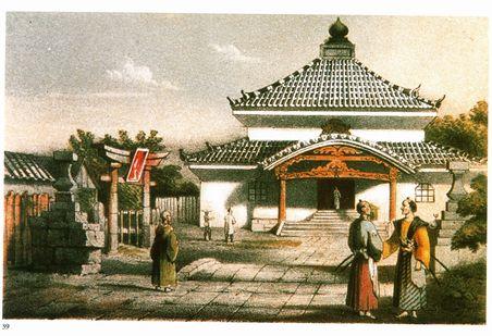 イギリス人が描いた寺