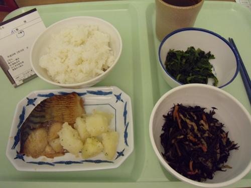 おいしかったサバカレー焼夕飯