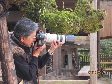 プロのカメラ