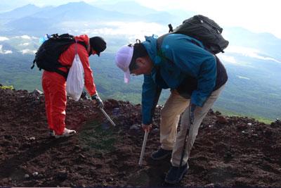 富士山清掃活動