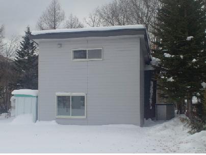 雪の我が家2