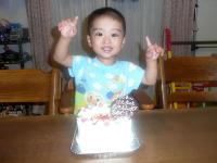 けんぼー。、2歳の誕生日
