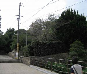 福山城へと